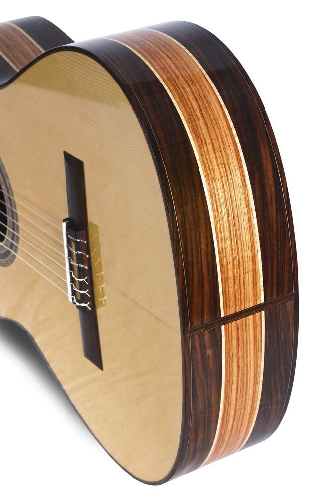 Classical guitar by luthier Daniel Desjardins