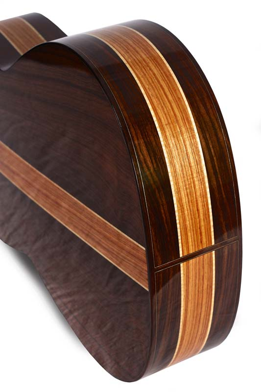 Bottom of classical guitar