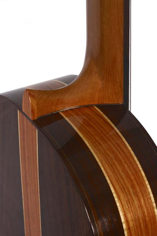 Classical guitar by Daniel Desjardins luthier